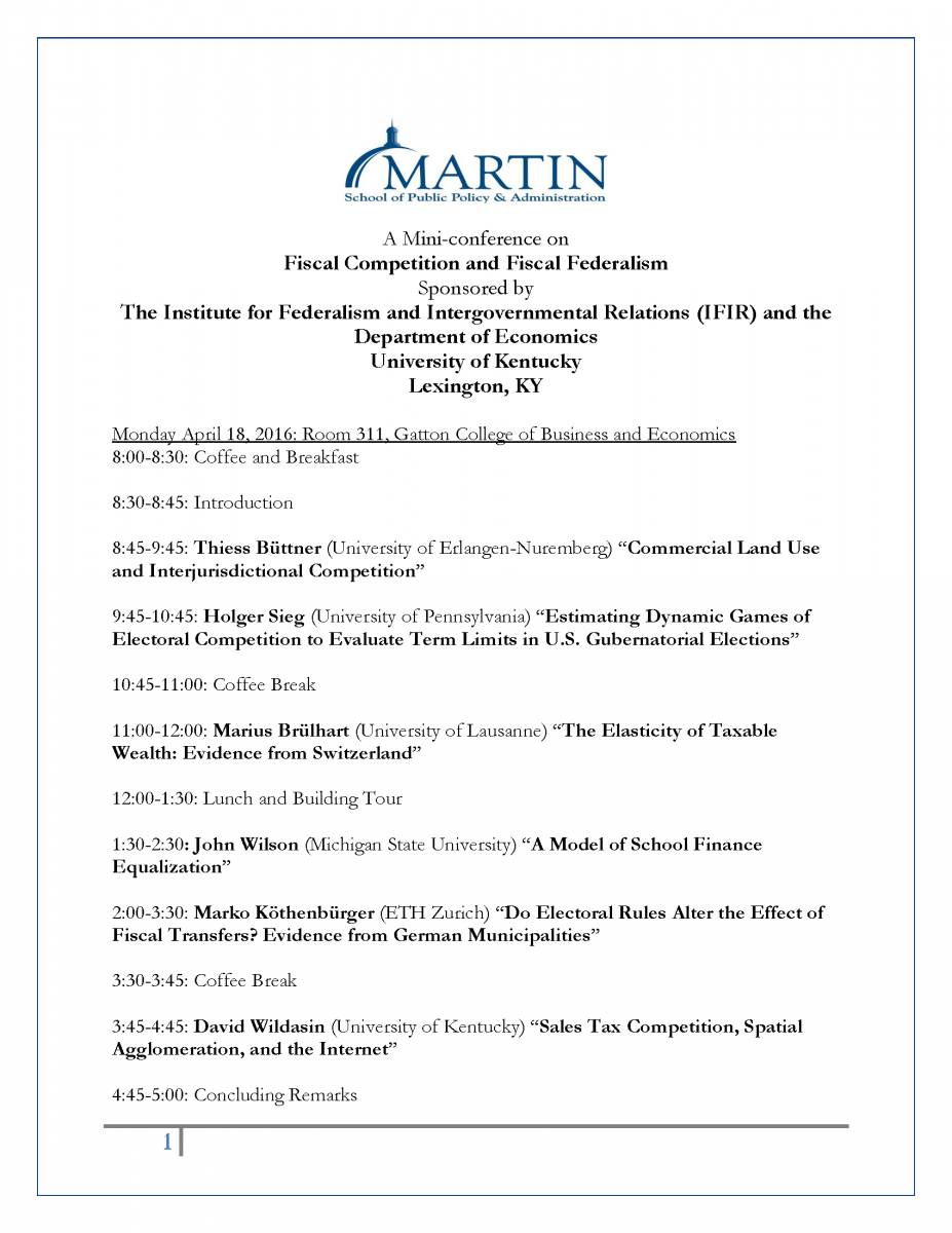 dissertations in intergovernmental relations Dissertations, professional papers vulnerability assessment and mitigation planning in clark county intergovernmental relations and coordination.