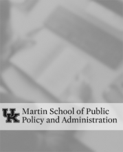 Martin School for Public Policy and Administration replacement graphic